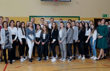 Dzień Edukacji Narodowej i ślubowanie uczniów klasy I.